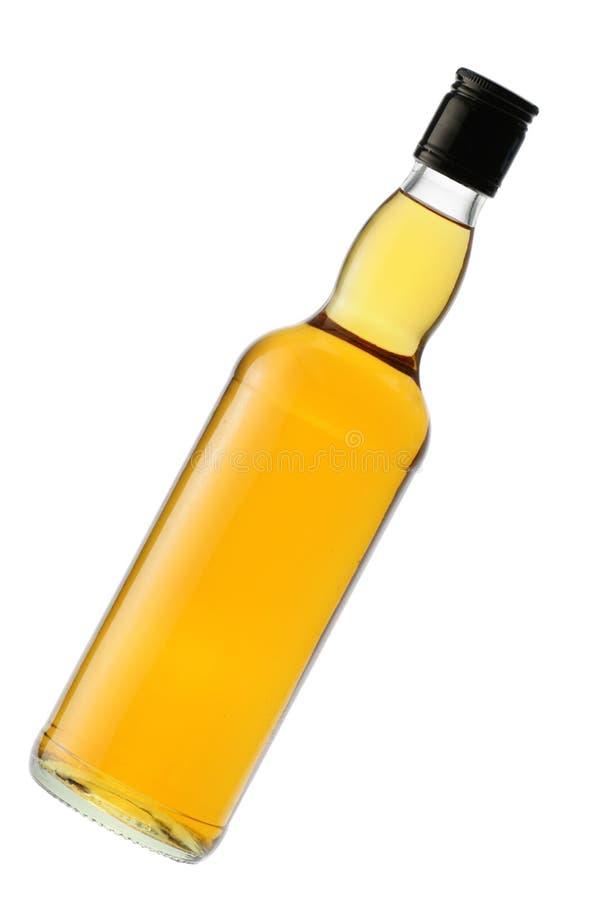 Whiskyflasche lizenzfreie stockfotos
