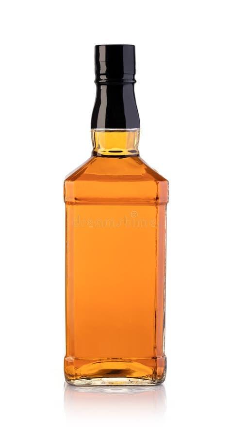 Whiskyfles royalty-vrije stock foto