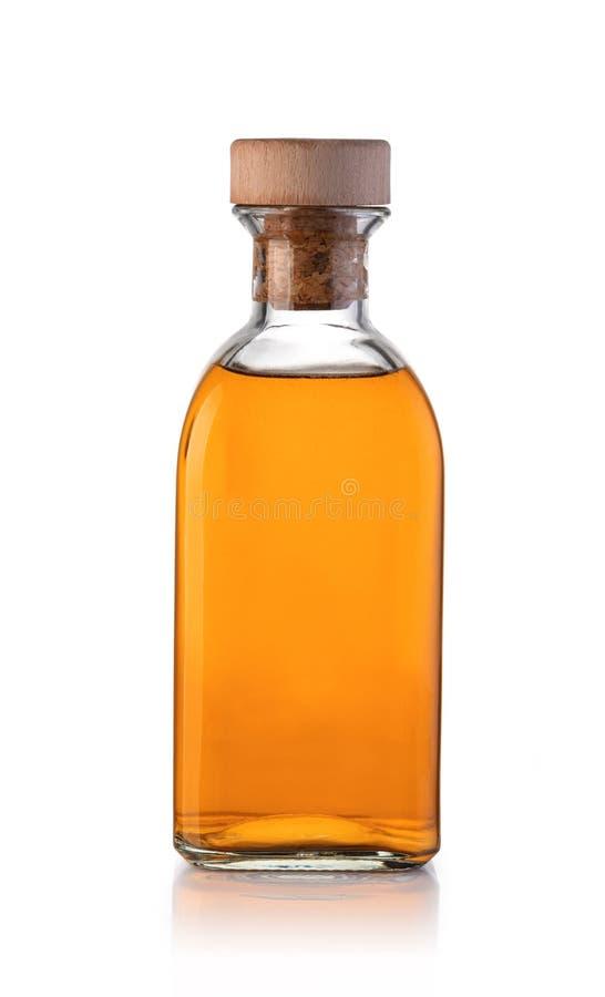 Whiskyfles stock afbeelding