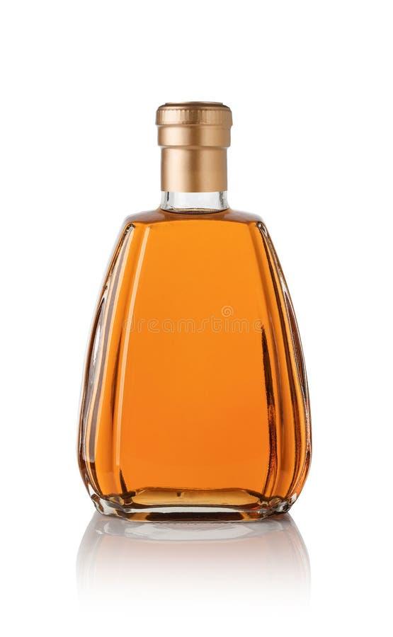 Whiskyfles royalty-vrije stock afbeelding