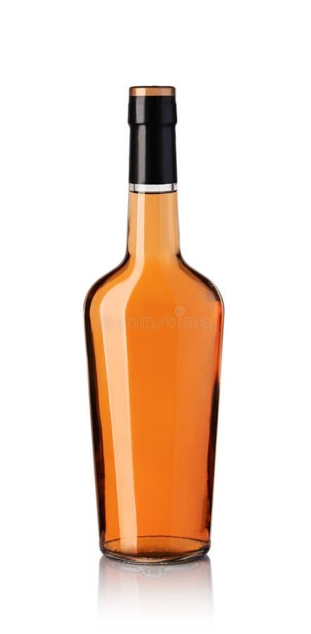 Whiskyfles stock afbeeldingen