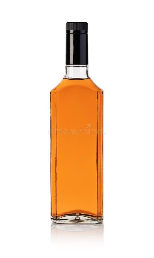 Whiskyfles royalty-vrije stock fotografie