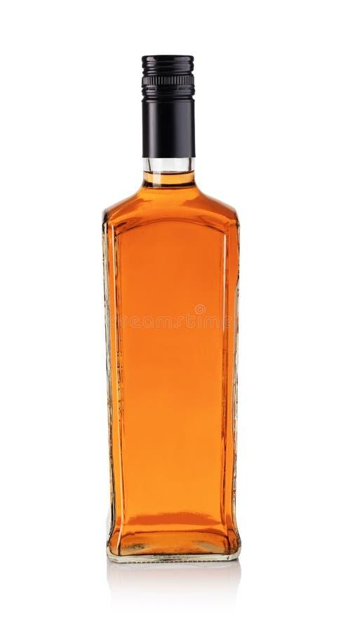 Whiskyfles stock foto's
