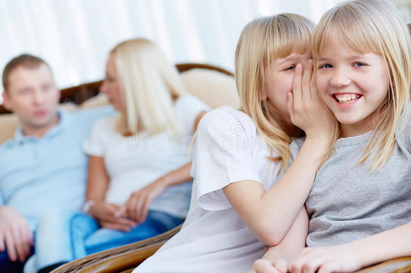 Download Whisper stock photo. Image of affection, children, caucasian - 32735334