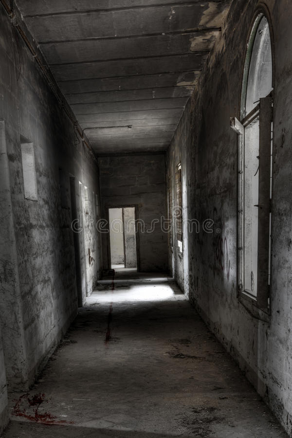 Whispers in the Corridor stock photos