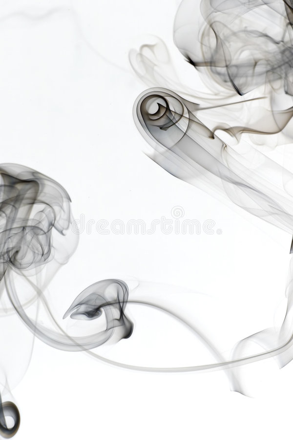 Whispy Smoke 7 Stock Image