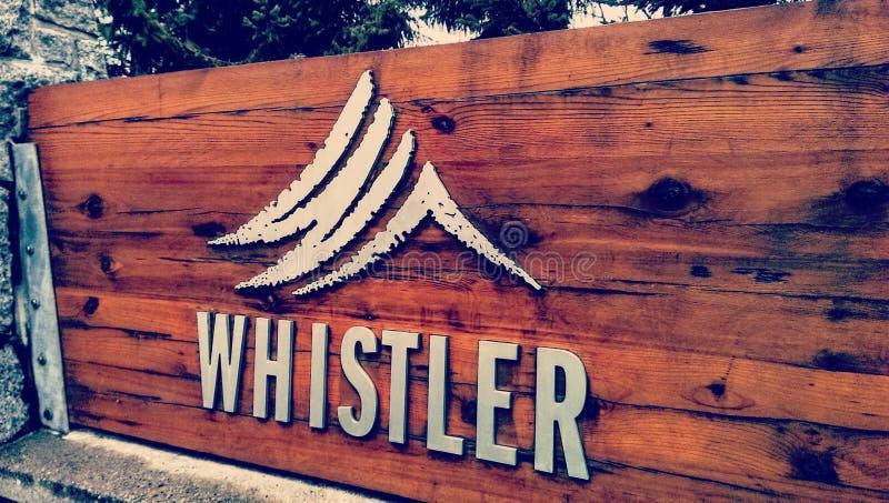 whistler fotos de archivo