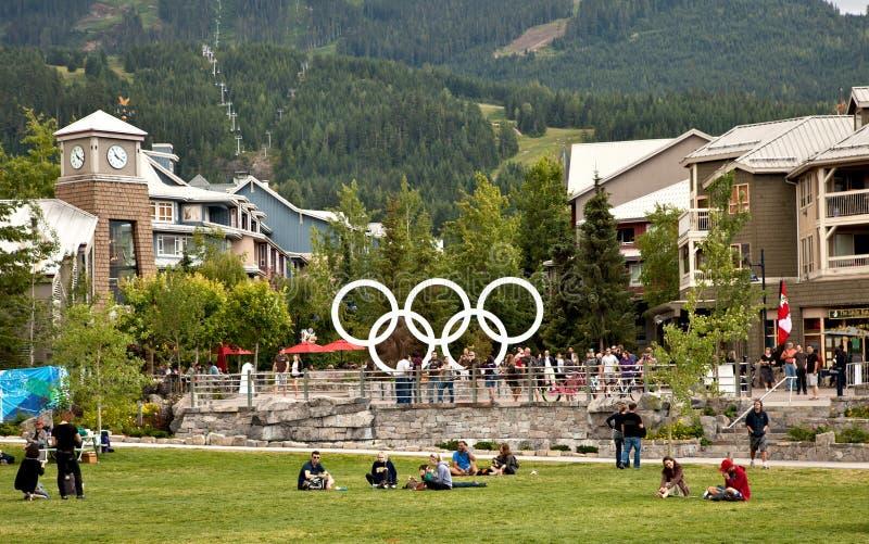 Whistler BC, il Canada fotografia stock