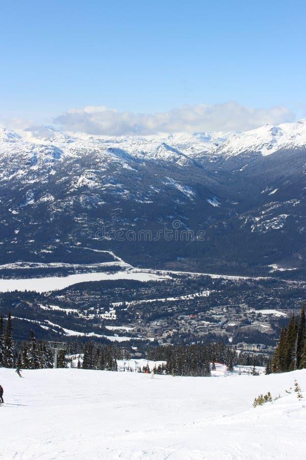 Whistler - Canada immagine stock libera da diritti