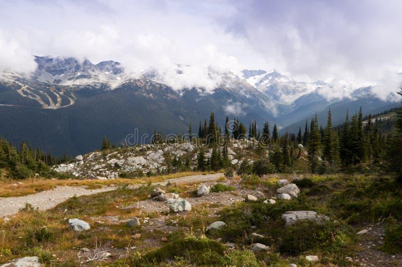 Whistler landskap arkivbilder