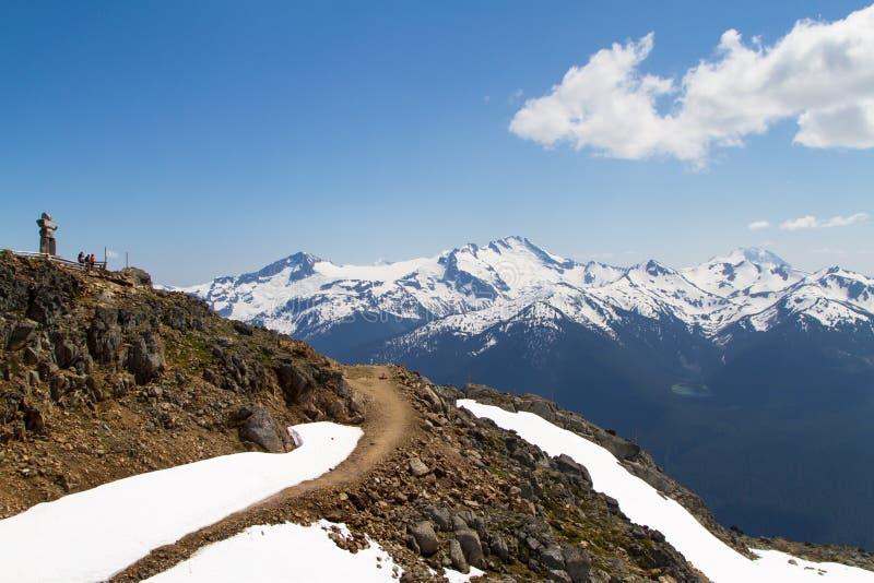 Whistler Peak stock images