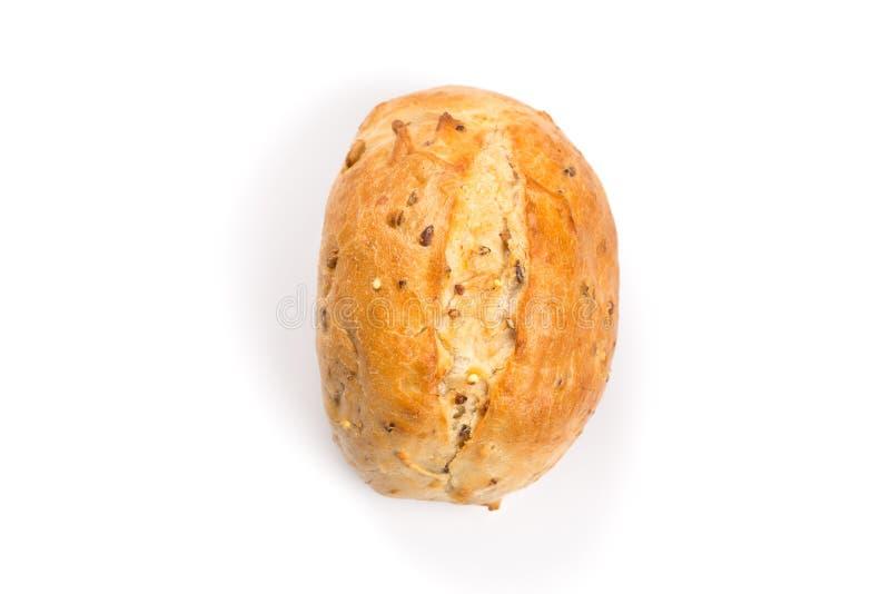 Whit van het broodjesbroodje sesam royalty-vrije stock fotografie