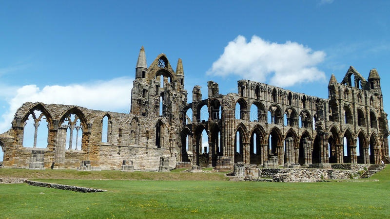 Download Whitby Abbey stock photo. Image of yorkshire, england - 25214170