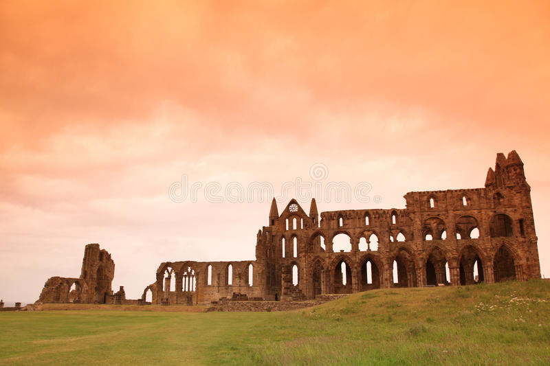 Download Whitby Abbey castle stock image. Image of colorful, stones - 24276399
