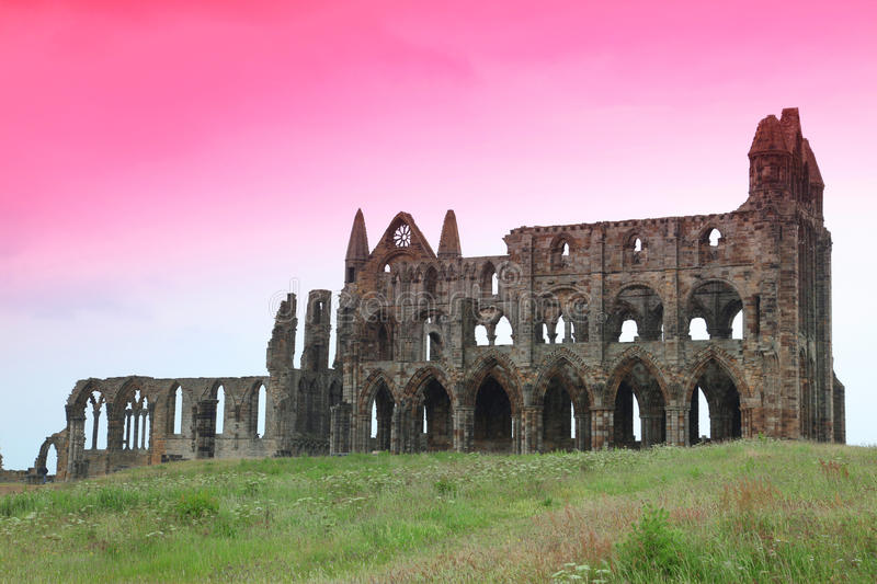 Download Whitby Abbey castle stock photo. Image of building, colorful - 25433696