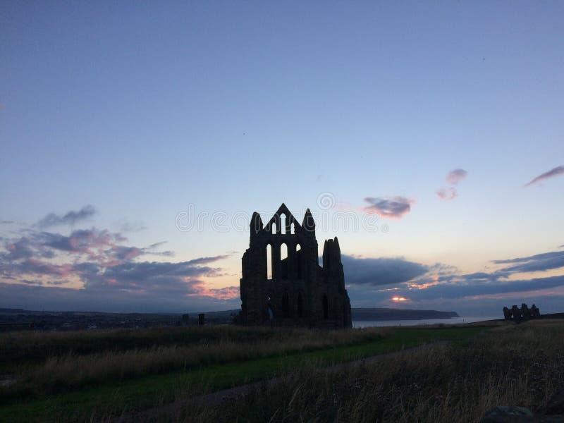 Whitby abbey stock photos
