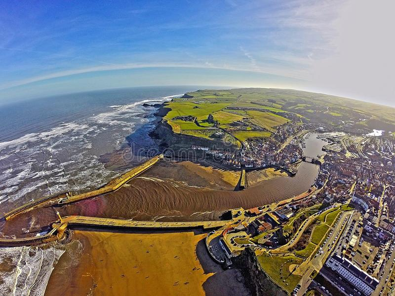 Whitby Abby image stock