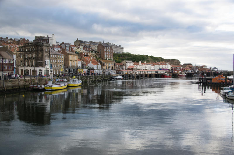 Whitby Bay royalty free stock photography