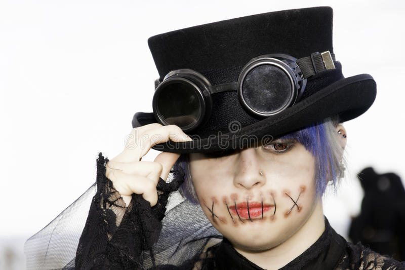 Whitby Goth Weekend photo stock