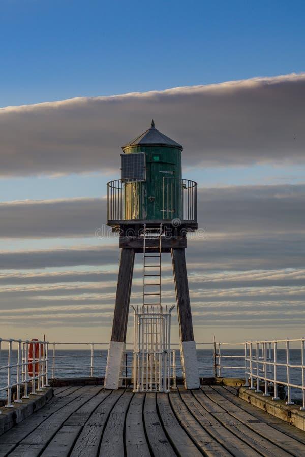 Whitby Harbour Localizado en la costa este del norte de Inglaterra imagenes de archivo