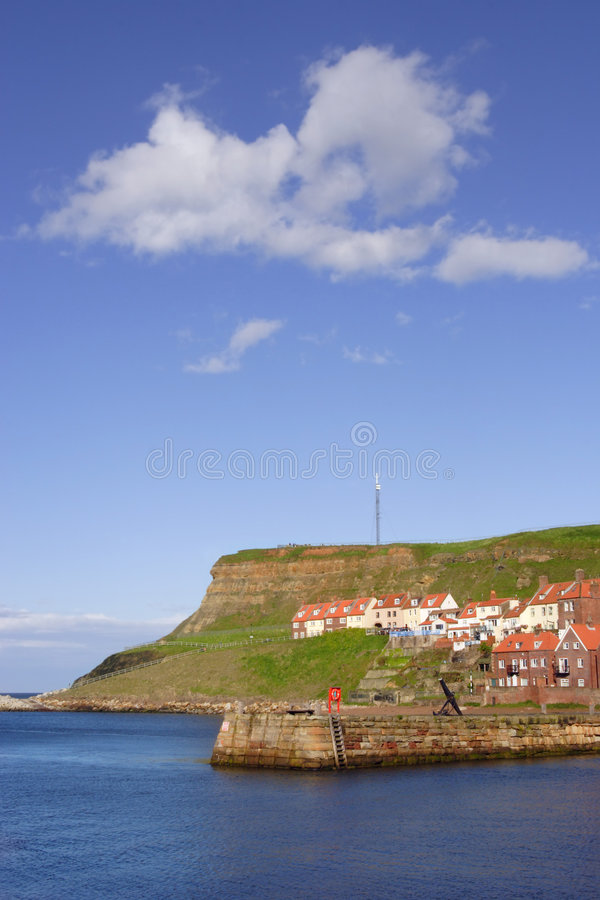 Free Whitby Harbour, UK Royalty Free Stock Photo - 822295