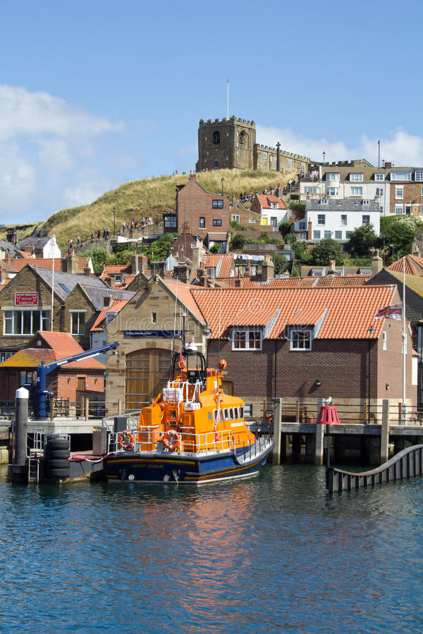Whitby lifeboat station royalty free stock images