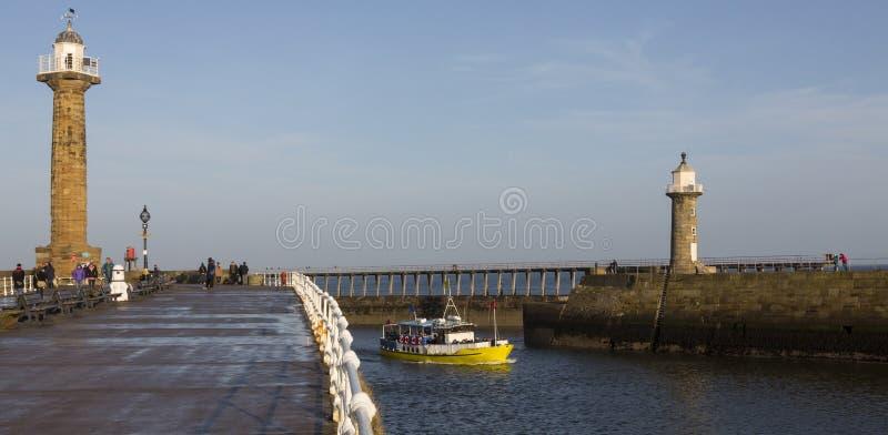 Whitby - North Yorkshire - le Royaume-Uni photographie stock libre de droits