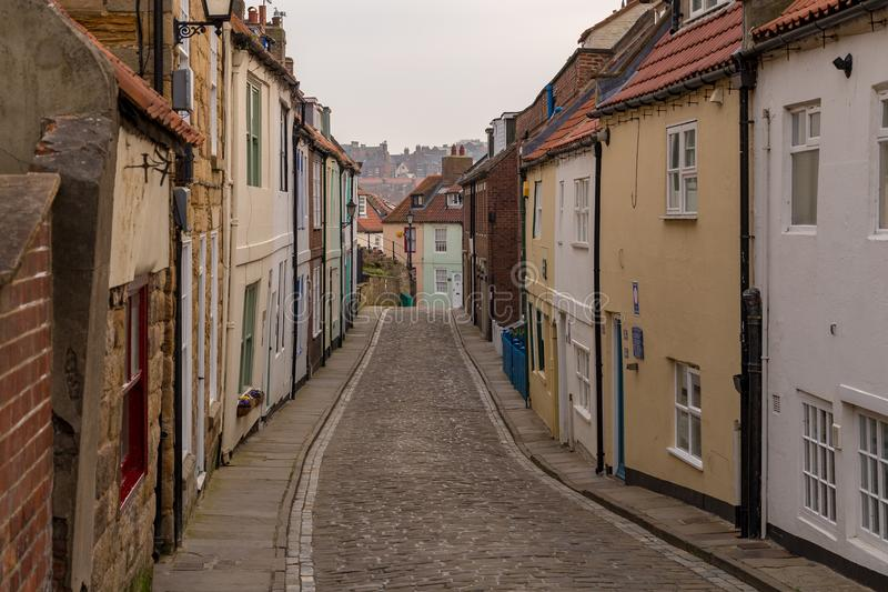 Whitby, North Yorkshire, R-U images stock