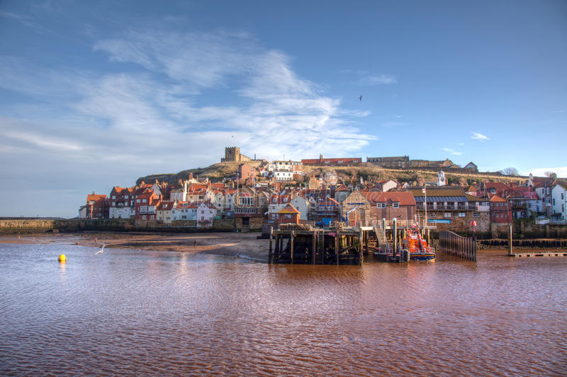 Whitby Quayside stock photography