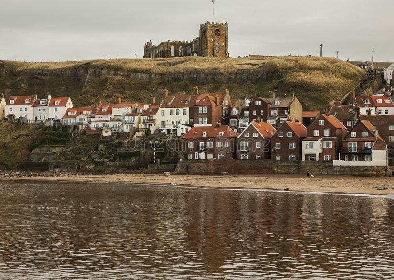 Whitby, Yorkshire, England - the church. royalty free stock image