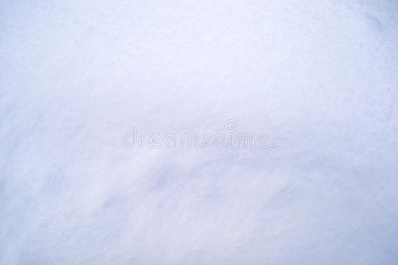 White abstract authentic snow background. stock photo