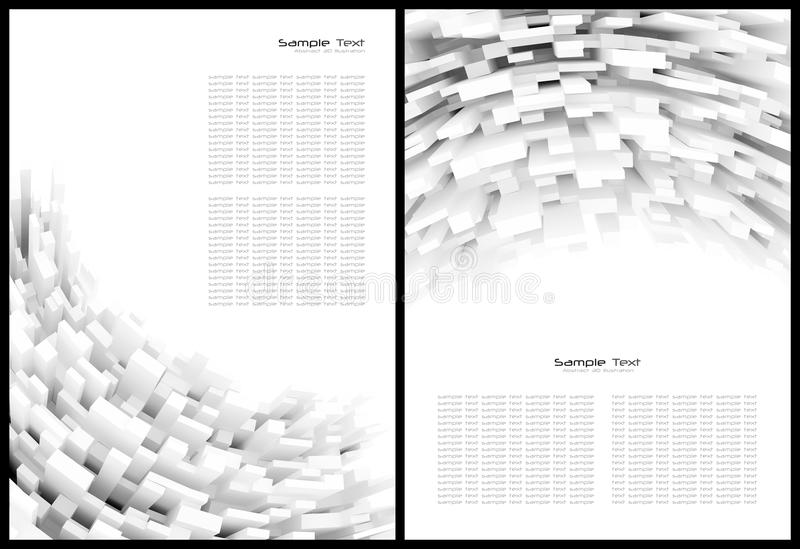 Download White abstract background stock illustration. Image of banner - 23501174