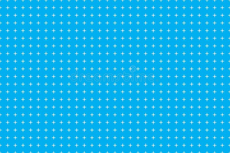 White abstract background with seamless random dark crosses, dots, grunge texture for design concepts, posters, banners vector illustration