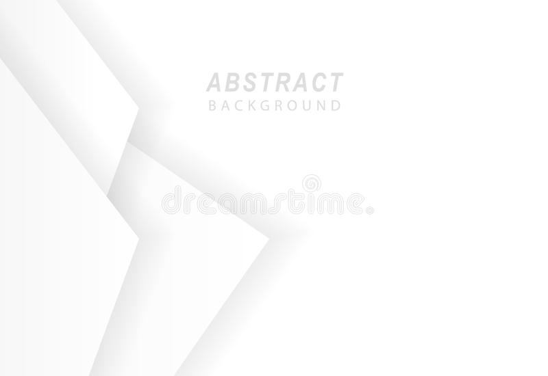 White abstract background vector illustration.  vector illustration