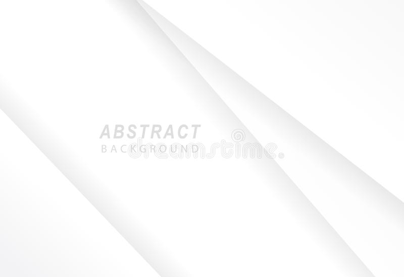 White abstract background vector illustration.  royalty free illustration