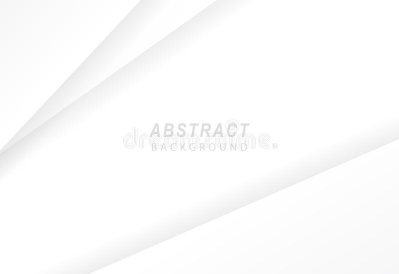 White abstract background vector illustration.  stock illustration