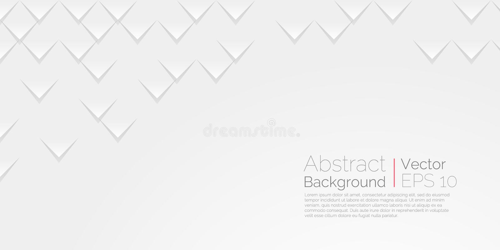 White abstract background. Vector wallpaper abstract scales texture vector illustration