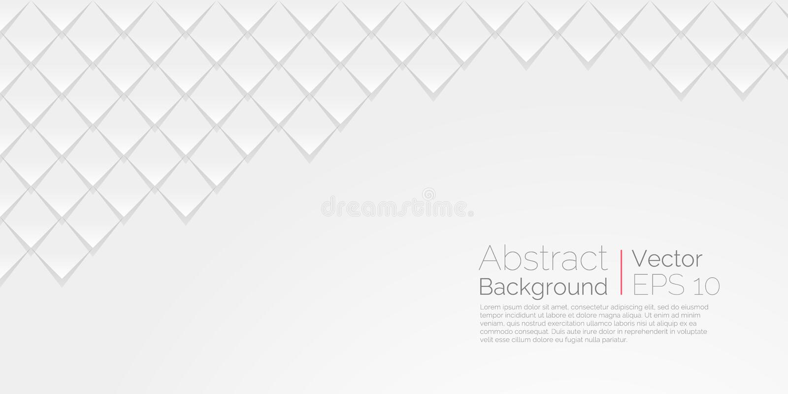 White abstract background. Vector wallpaper abstract. Scales texture royalty free illustration