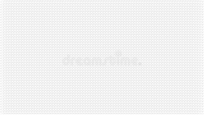 White abstract background with waffers texture. Pale grey crossed lines effect. Wide screen pattern, in frame, in vector. royalty free illustration