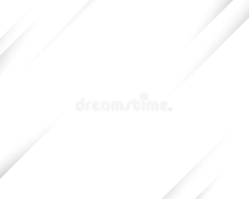 White abstract line concept vector background royalty free illustration