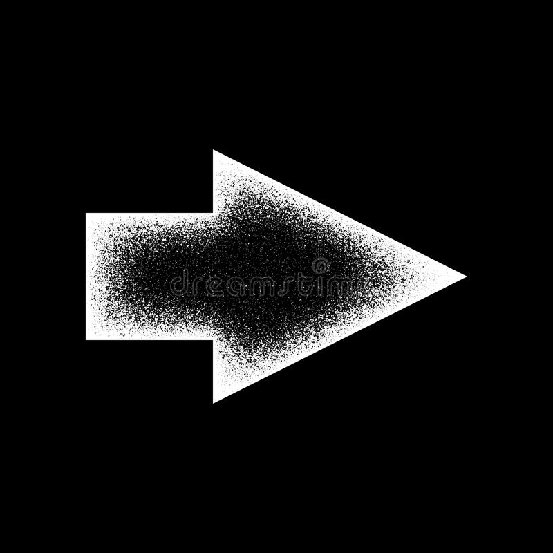 Free White Abstract Right Arrow Sign Royalty Free Stock Images - 86306369
