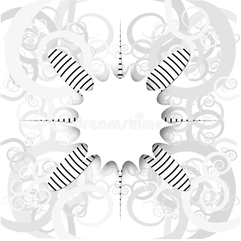 Download White abstraction stock vector. Illustration of motion - 14862813
