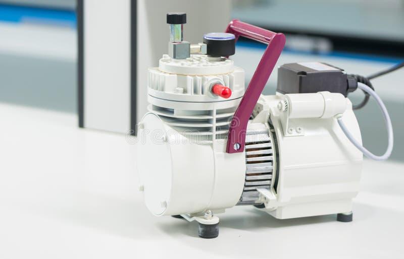White air compressor stock photo