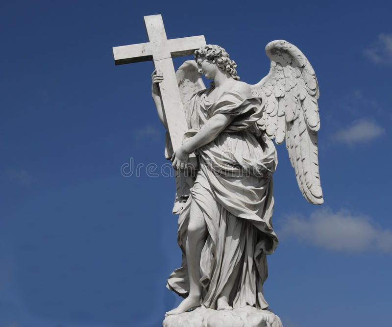 Download White angel stock image. Image of messenger, divine, sacred - 17610357