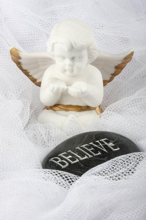 White Angel - Believe stock photos