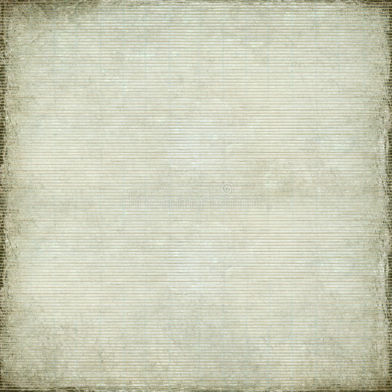 White antique paper and bamboo woven background vector illustration