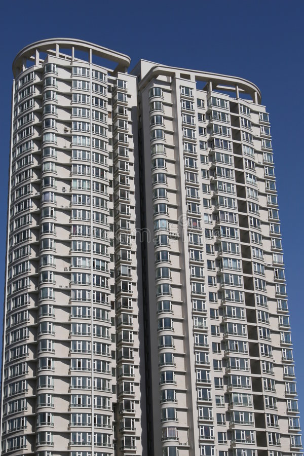 Download White apartment building stock photo. Image of beauty - 4763366