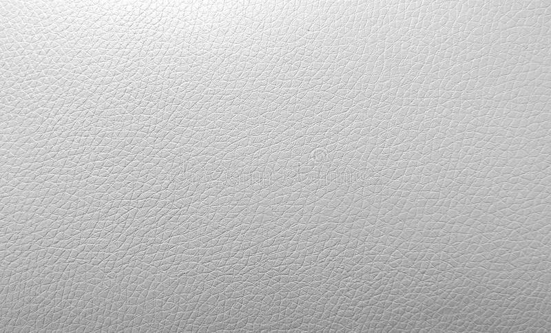 White artificial leather texture royalty free stock photo