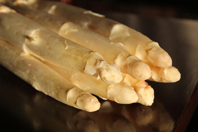 White Asparagus Paramid royalty free stock image