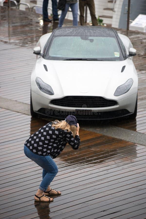 2018 Aston Martin DB11 stock photography